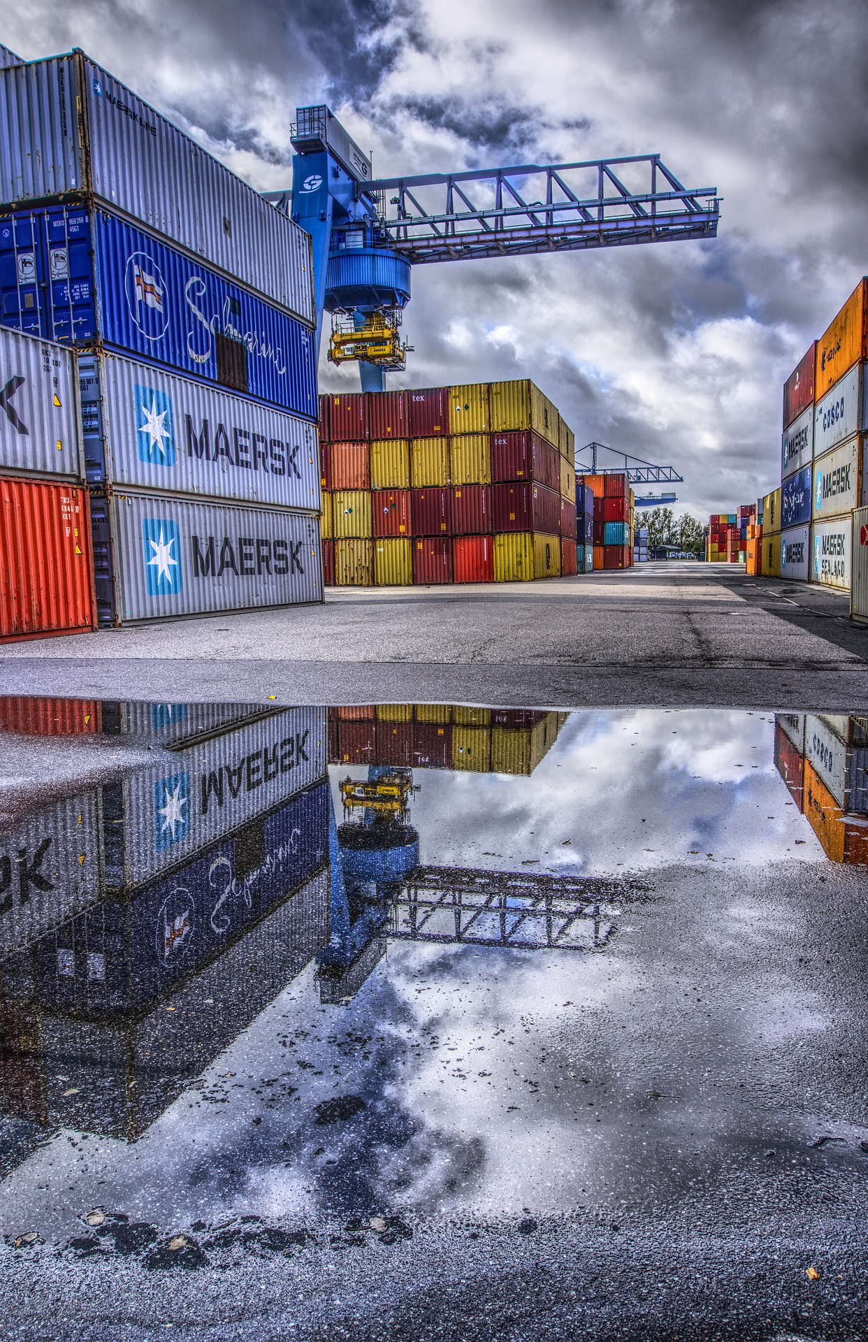 Courtesy Transfer Intermodal Container Trucking