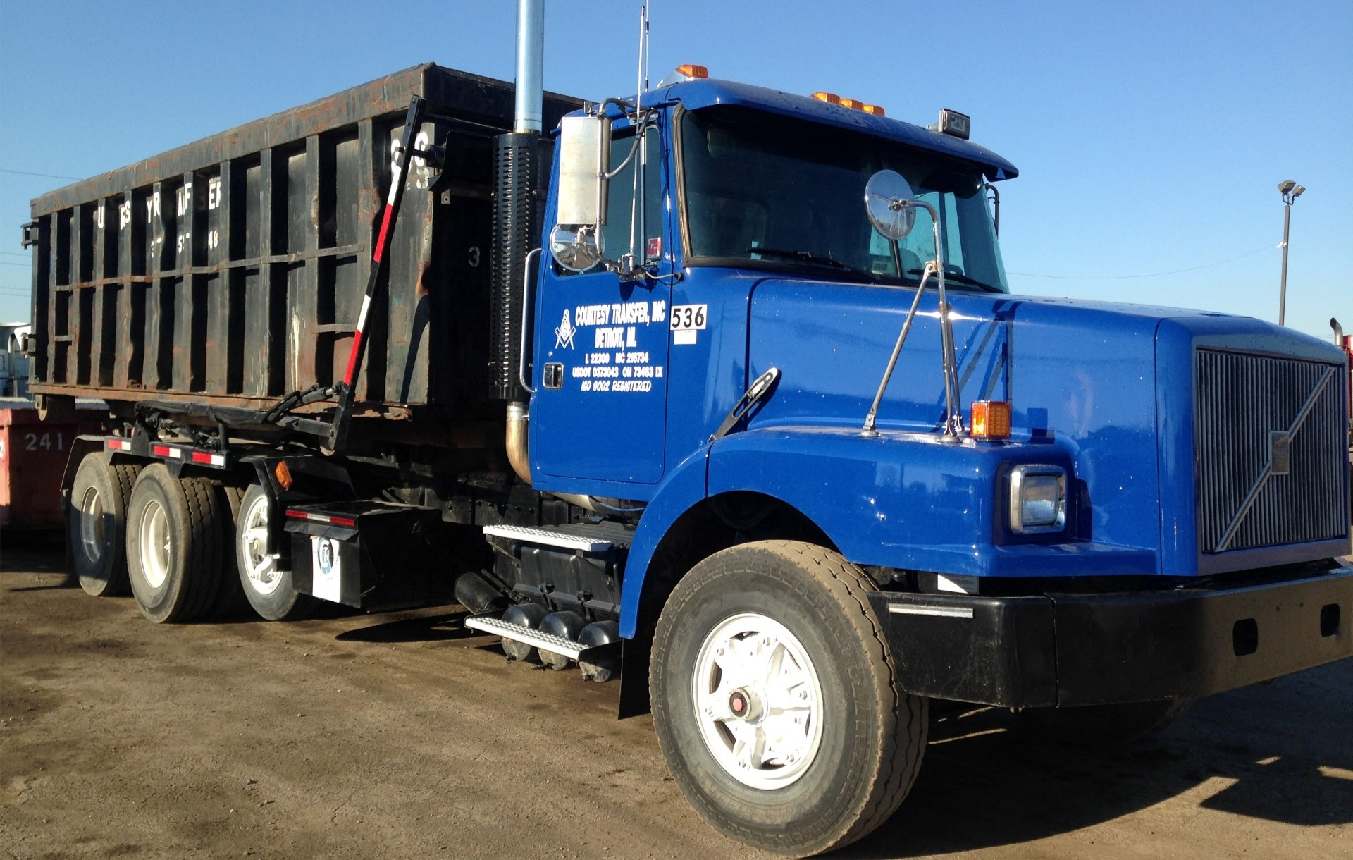 Rolloff Containers Courtesy Transfer Inc